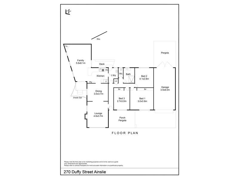 270 Duffy Street, Ainslie, ACT 2602 - floorplan