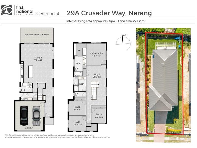 29A Crusader Way, Nerang, Qld 4211 - floorplan