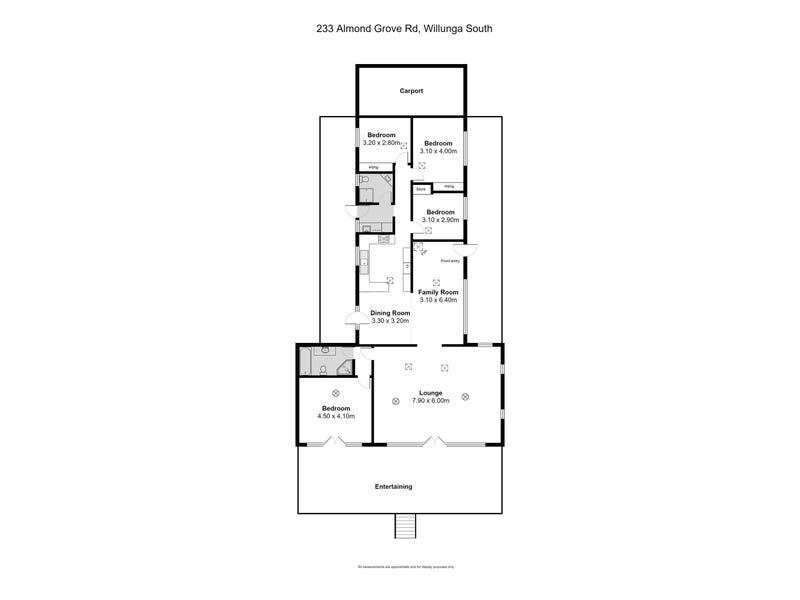 233 Almond Grove Road, Willunga South, SA 5172 - floorplan
