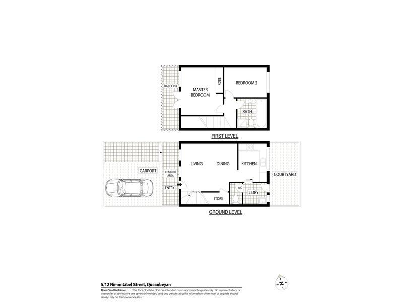 5/12 Nimmitabel Street, Queanbeyan, NSW 2620 - floorplan