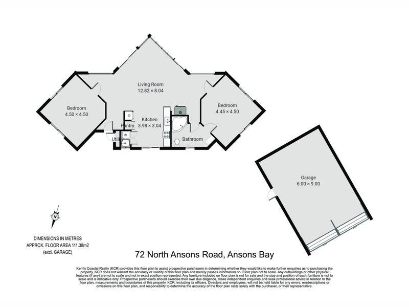 72 North Ansons Road, Ansons Bay, Tas 7264 - floorplan