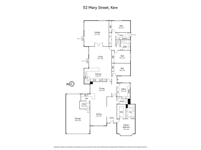 52 Mary Street, Kew, Vic 3101 - floorplan