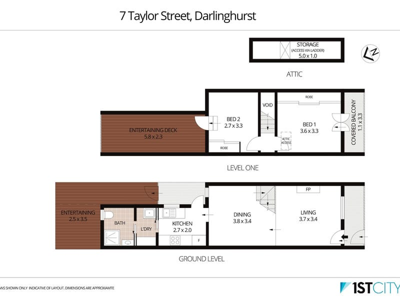 7 Taylor Street, Darlinghurst, NSW 2010 - floorplan