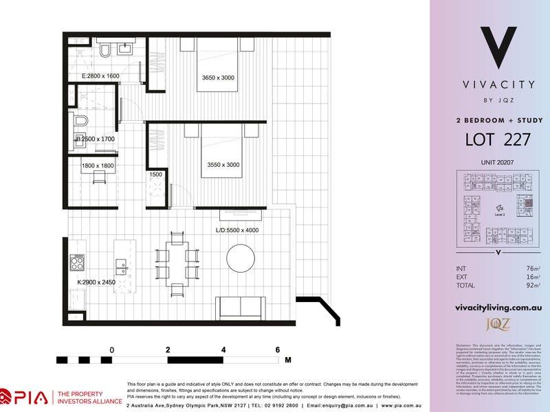 206/ 5 Uhrig Road, Lidcombe, NSW 2141 - floorplan