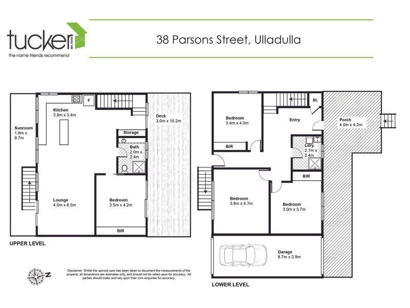 38 Parson Street, Ulladulla, NSW 2539 - floorplan