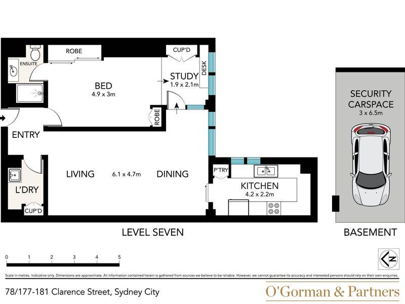 78/177-181 Clarence Street, Sydney, NSW 2000 - floorplan