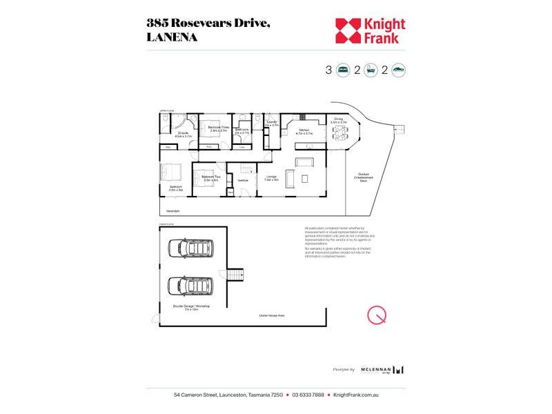 385 Rosevears Drive, Lanena, Tas 7275 - floorplan