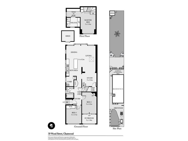 39 Wood Street, Chatswood, NSW 2067 - floorplan