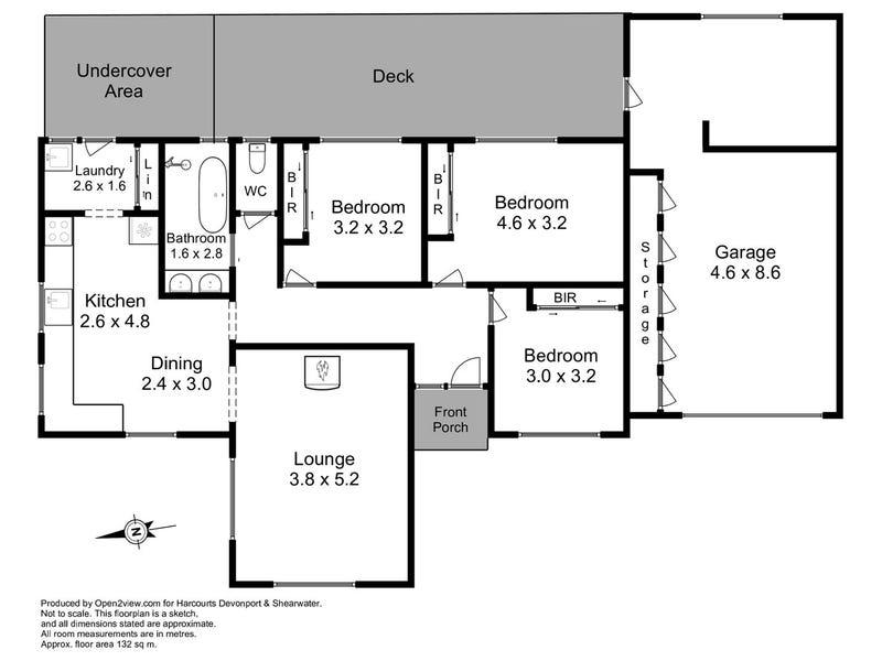 2 Wylie Street, Devonport, Tas 7310 - floorplan