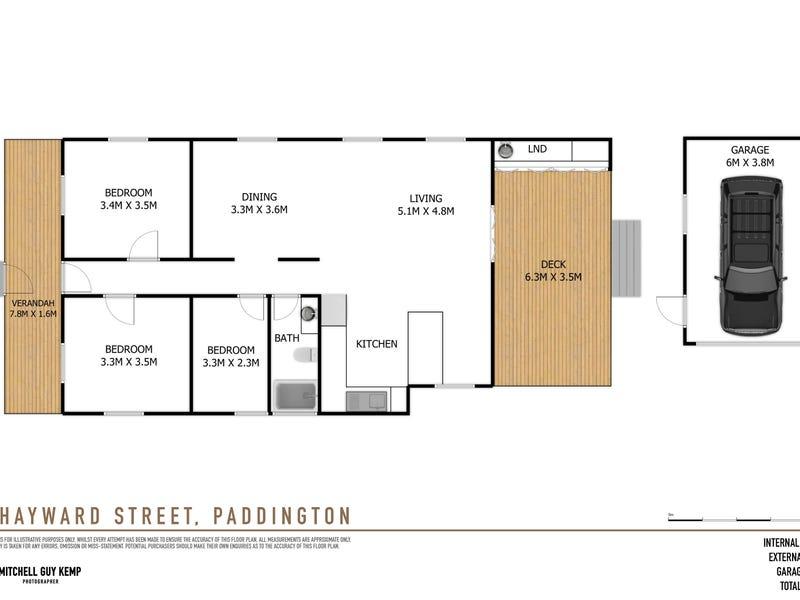 42 Hayward Street, Paddington, Qld 4064 - floorplan
