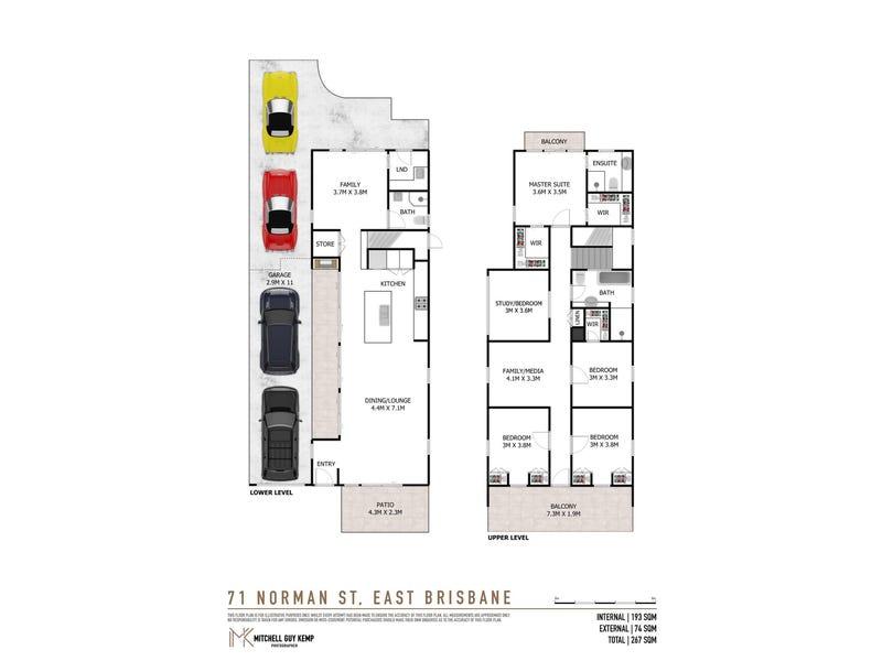 71 Norman Street, East Brisbane, Qld 4169 - floorplan