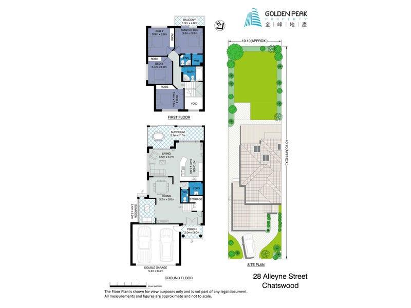 28 Alleyne Street, Chatswood, NSW 2067 - floorplan