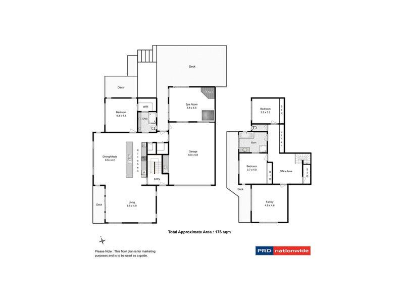 22 Jeanette Court, Lenah Valley, Tas 7008 - floorplan
