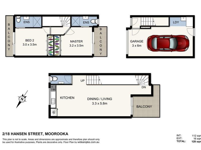 2/18 Hansen, Moorooka, Qld 4105 - floorplan
