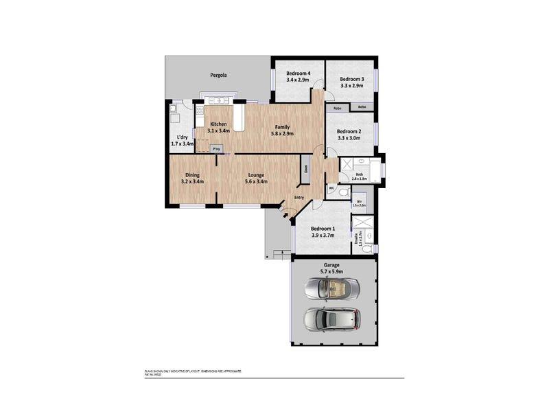 13 Butlin Place, Theodore, ACT 2905 - floorplan