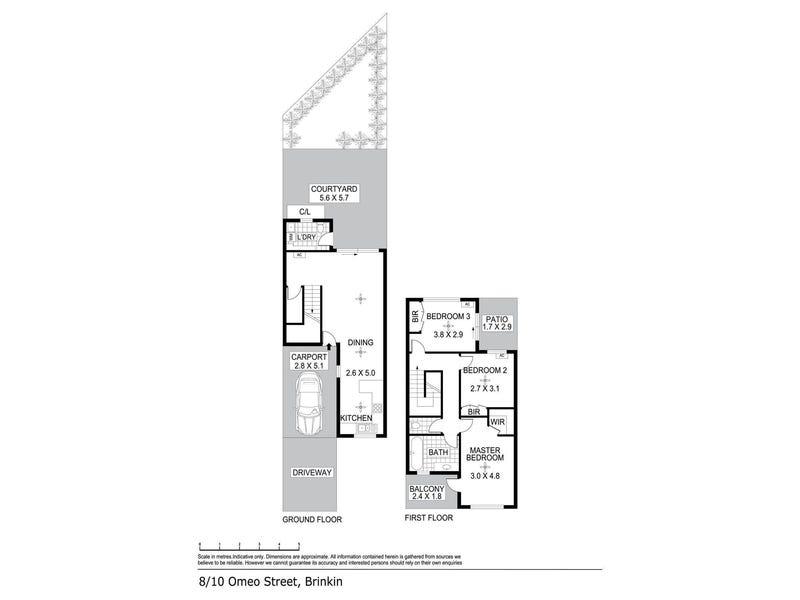 8/10-14 Omeo Street, Brinkin, NT 0810 - floorplan