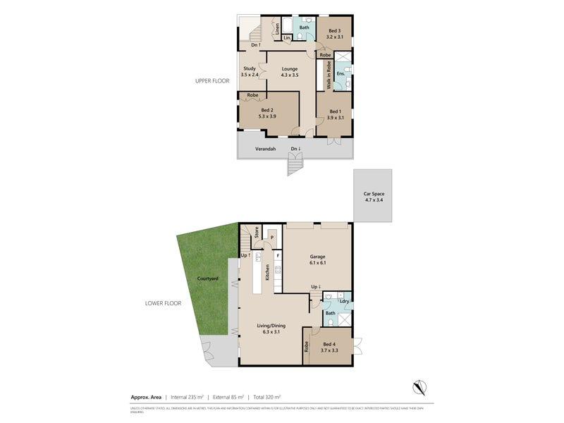 2 Plunkett Street, Paddington, Qld 4064 - floorplan