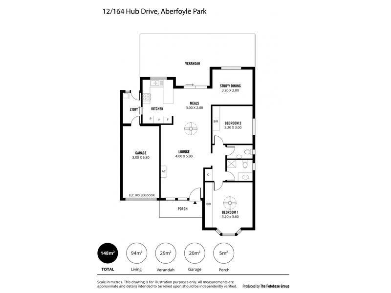 12/164 HUB DRIVE, Aberfoyle Park, SA 5159 - floorplan