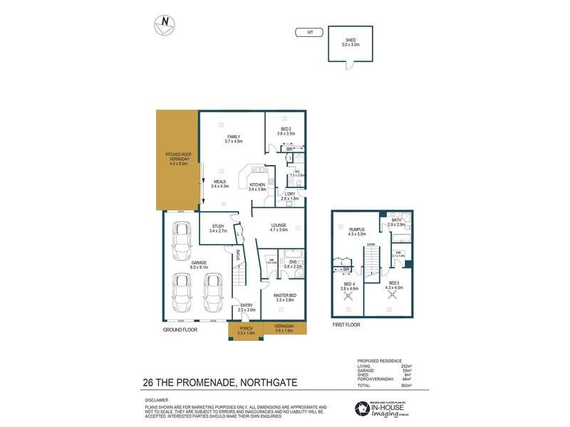 26 The Promenade, Northgate, SA 5085 - floorplan