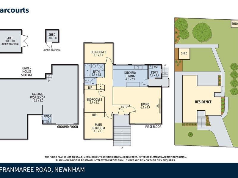 34 Franmaree Rd, Newnham, Tas 7248 - floorplan