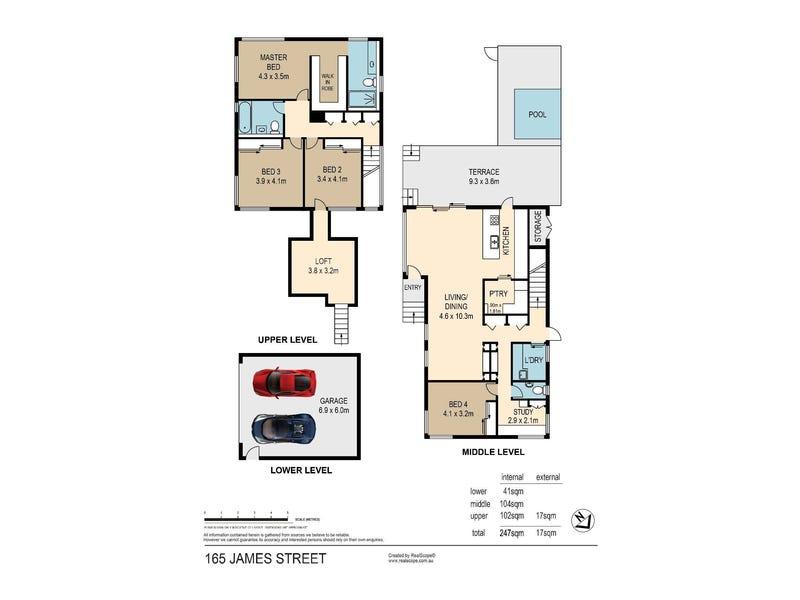 165 James Street, New Farm, Qld 4005 - floorplan