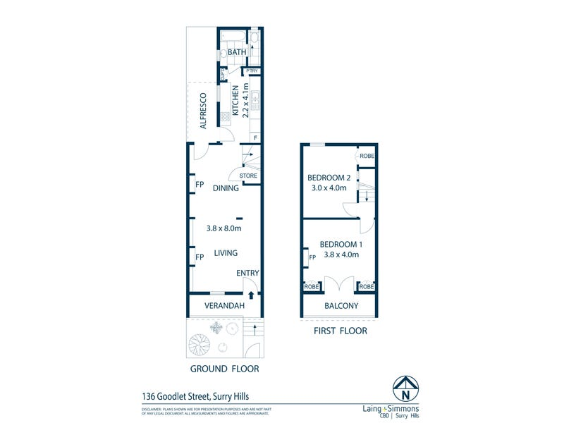 136 Goodlet Street, Surry Hills, NSW 2010 - floorplan