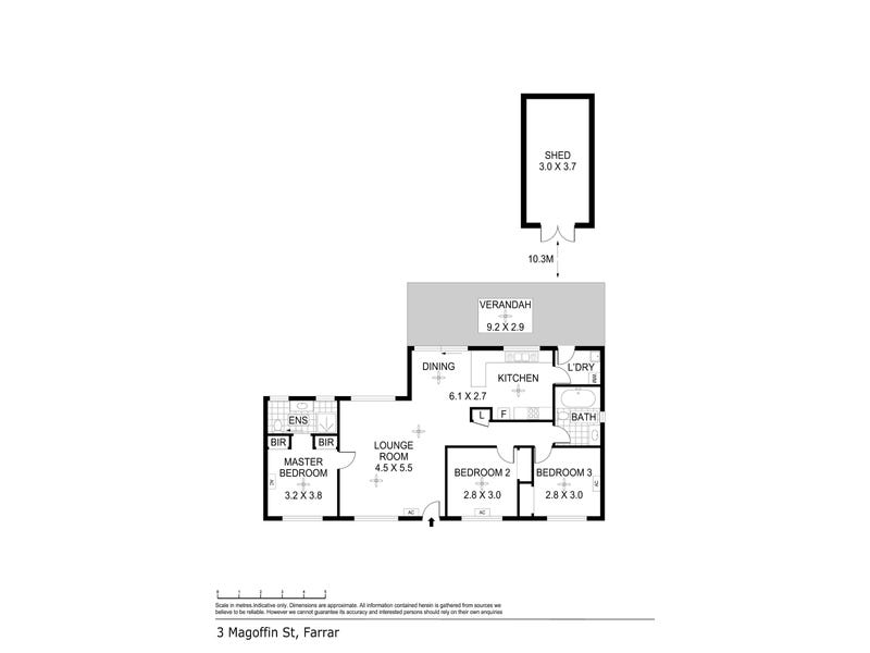 3 Magoffin Street, Farrar, NT 0830 - floorplan