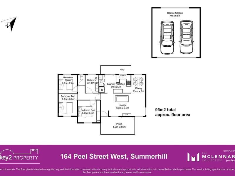164 Peel Street, Summerhill, Tas 7250 - floorplan