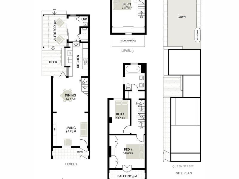 19 Queen Street, Glebe, NSW 2037 - floorplan
