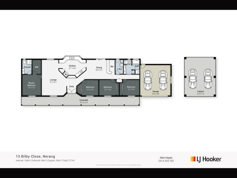 13 Bilby Close, Nerang, Qld 4211 - floorplan