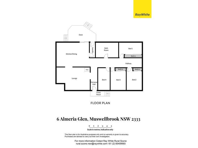 6 Almeria Glen, Muswellbrook, NSW 2333 - floorplan