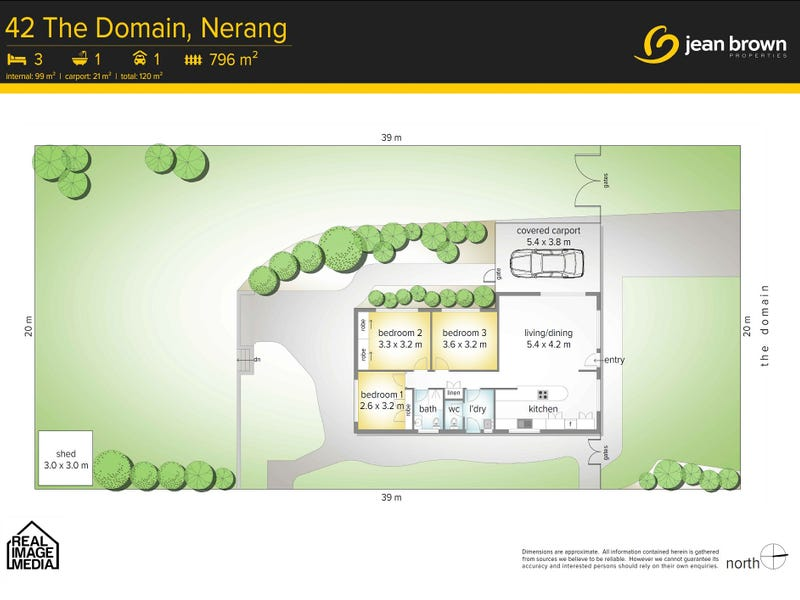 42 The Domain, Nerang, Qld 4211 - floorplan