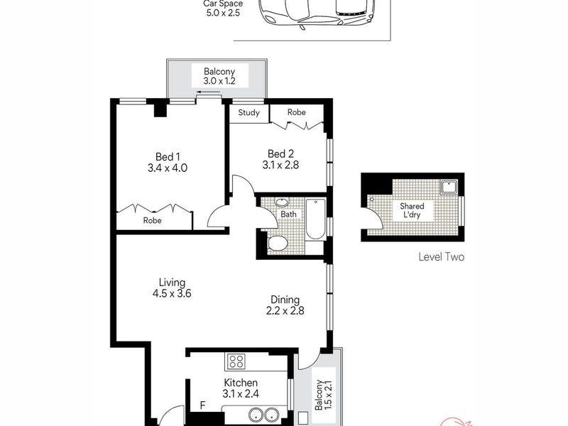 22/43 Musgrave Street, Mosman, NSW 2088 - floorplan