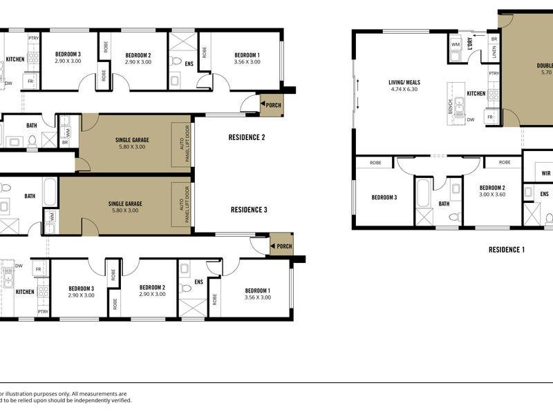 13A - 13B Shearing Street, Oaklands Park, SA 5046 - floorplan
