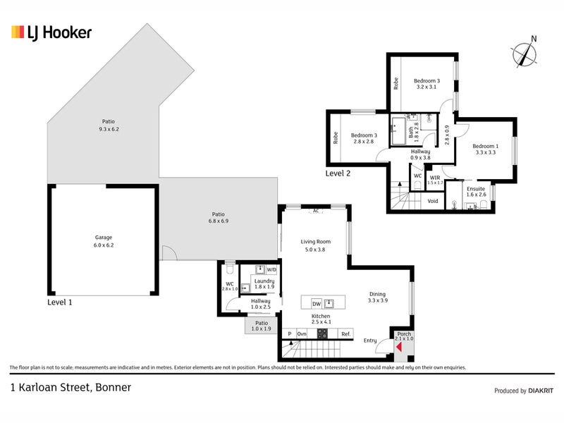 1 Karloan Street, Bonner, ACT 2914 - floorplan