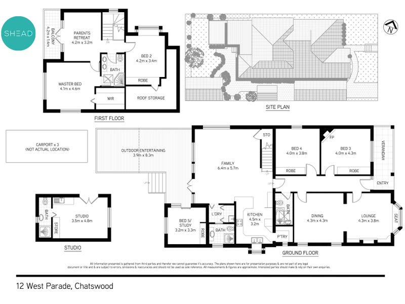12 West Parade, Chatswood, NSW 2067 - floorplan