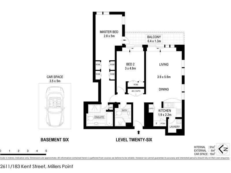 183 Kent Street, Sydney, NSW 2000 - floorplan