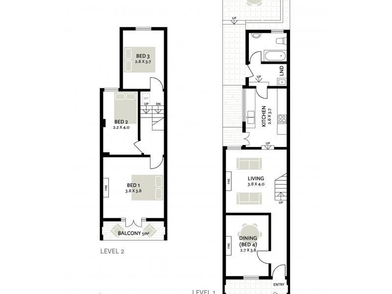 26 Chisholm Street, Darlinghurst, NSW 2010 - floorplan