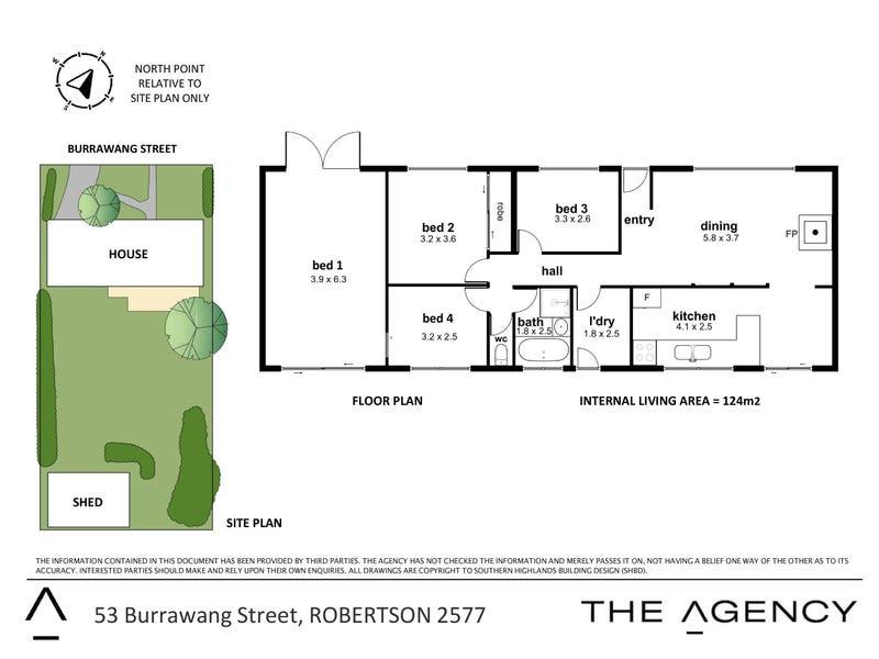 53 Burrawang Street, Robertson, NSW 2577 - floorplan