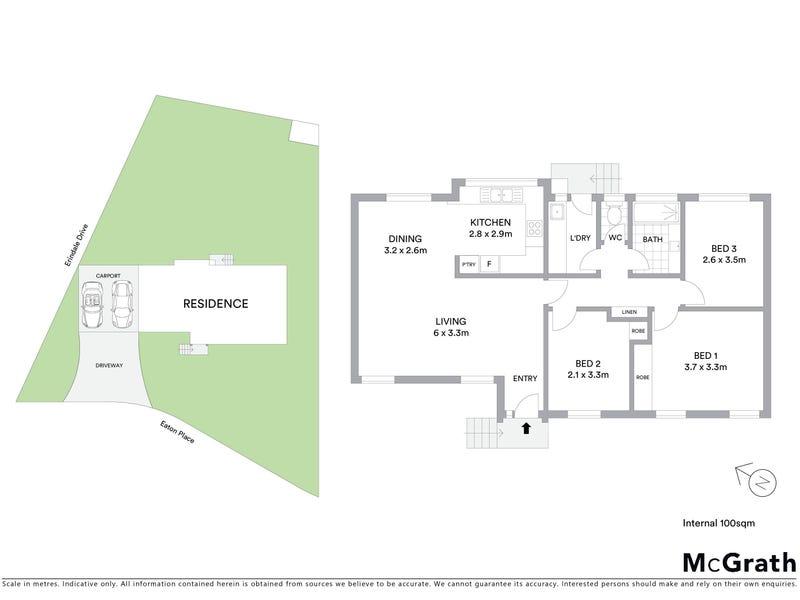8 Eaton Place, Monash, ACT 2904 - floorplan