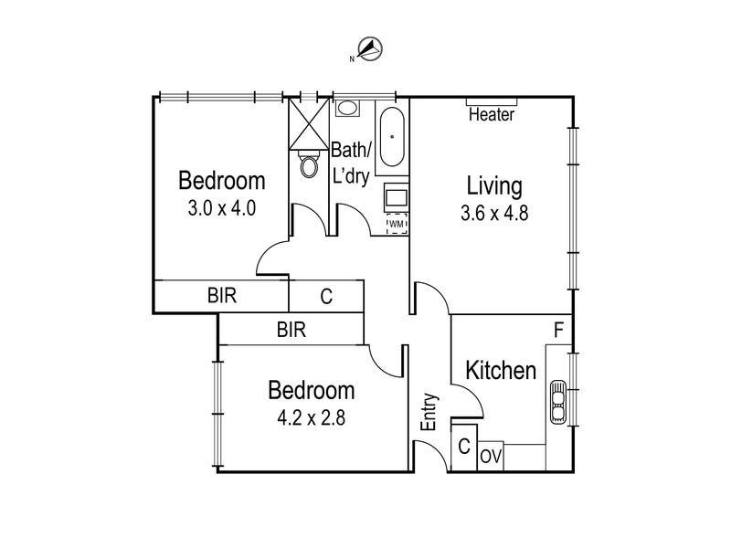 14/14-16 Merton Street, Ivanhoe, Vic 3079 - floorplan
