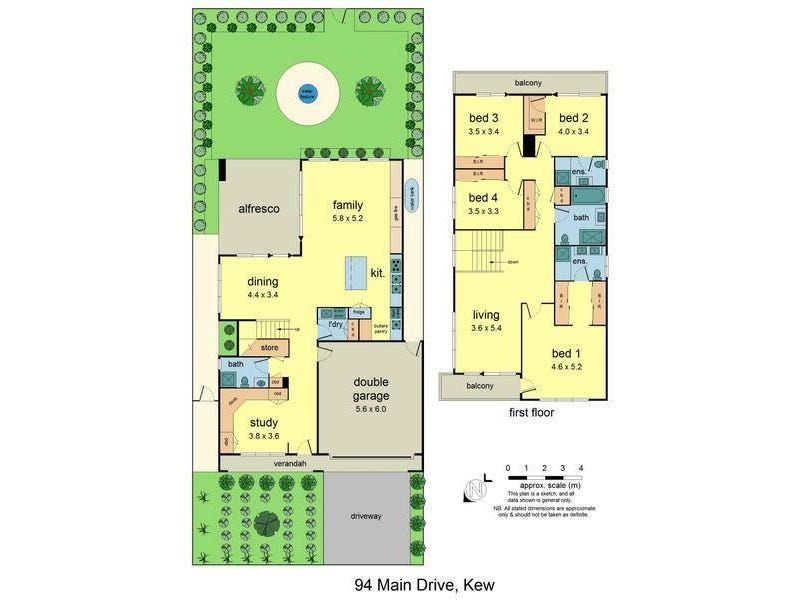 94 Main Drive, Kew, Vic 3101 - floorplan