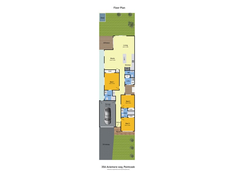 35A Aviemore way, Point Cook, Vic 3030 - floorplan