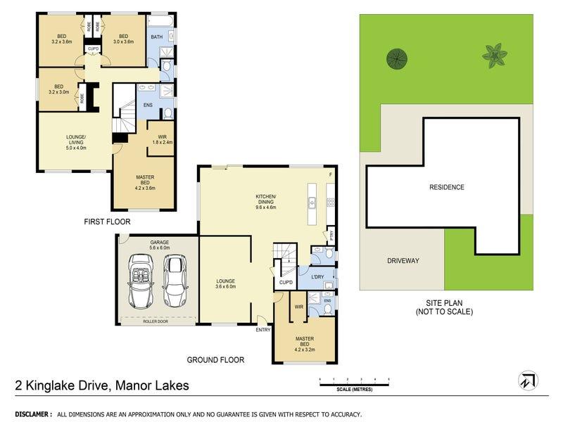 2 Kinglake Drive, Manor Lakes, Vic 3024 - floorplan