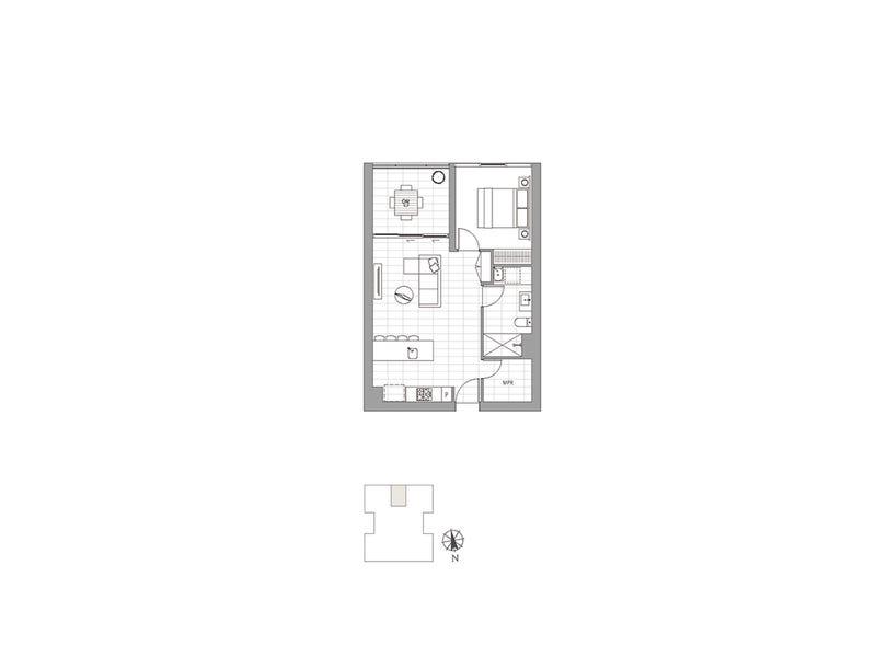 3056/36 Evelyn Street, Newstead, Qld 4006 - floorplan