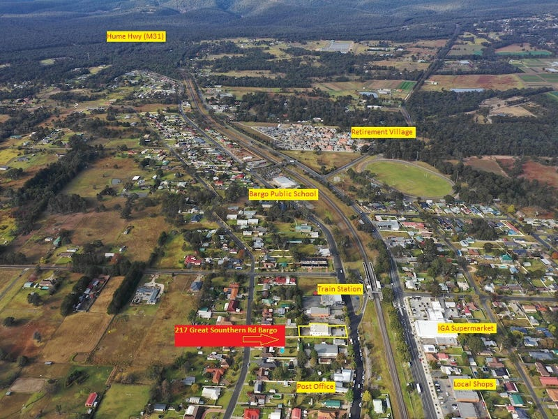 217 GREAT SOUTHERN ROAD, Bargo, NSW 2574
