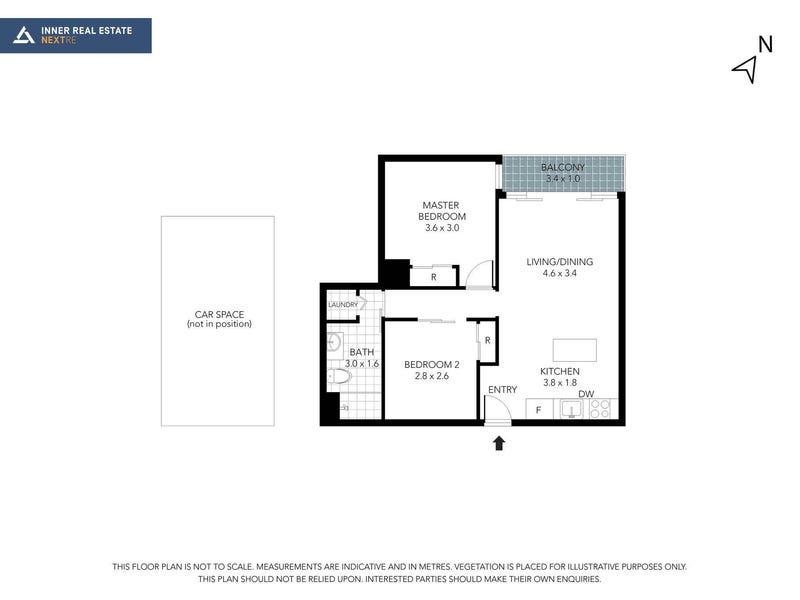 412/108 Flinders Street, Melbourne, Vic 3000 - floorplan