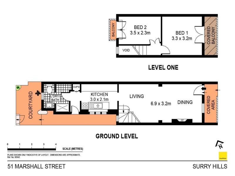 51 Marshall Street, Surry Hills, NSW 2010 - floorplan