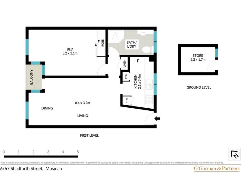 7/67 Shadforth Street, Mosman, NSW 2088 - floorplan