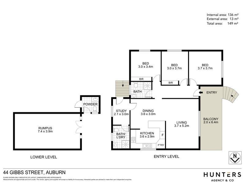44 Gibbs Street, Auburn, NSW 2144 - floorplan
